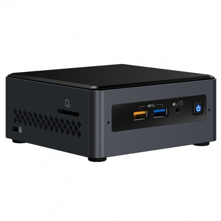 Nettop Intel NUC 7PJYH Mini-PC QuadCore J5005 / 8GB / 240GB SSD