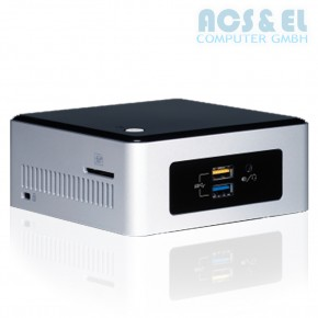 Nettop Intel NUC 5CPYH Mini-PC / 4GB / 500GB / WiFi