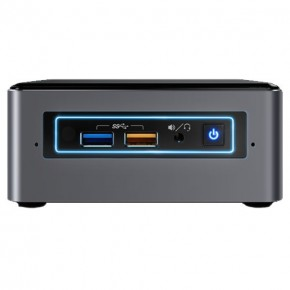 Nettop Intel NUC 7 i3-7100U BNH Mini-PC / 8GB / 240GB SSD / WiFi